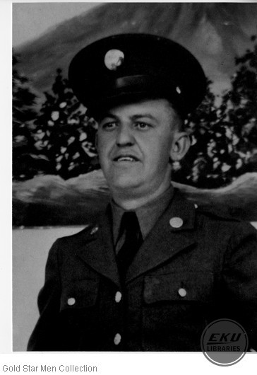 Clarence R. Rice in Army uniform