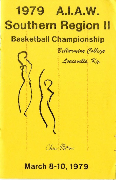 AIAW Region II Championship, Basketball, Small College