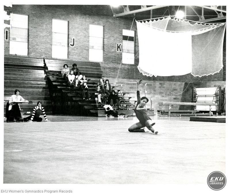 Patricia Barber on Floor Exercise