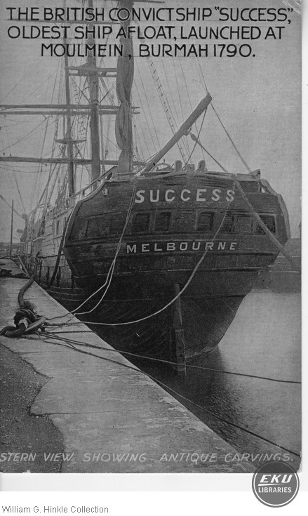 "Convict Ship ""Success"""