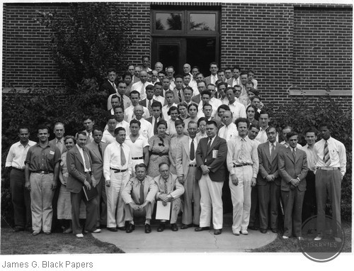 A Group at the Nuclear Symposium at the University of Michigan
