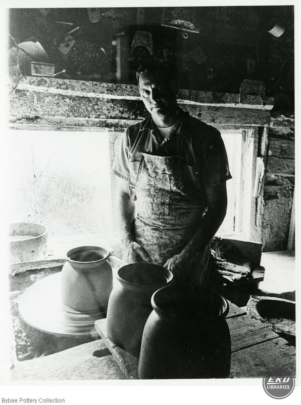 Walter Cornelison at the Pottery Wheel