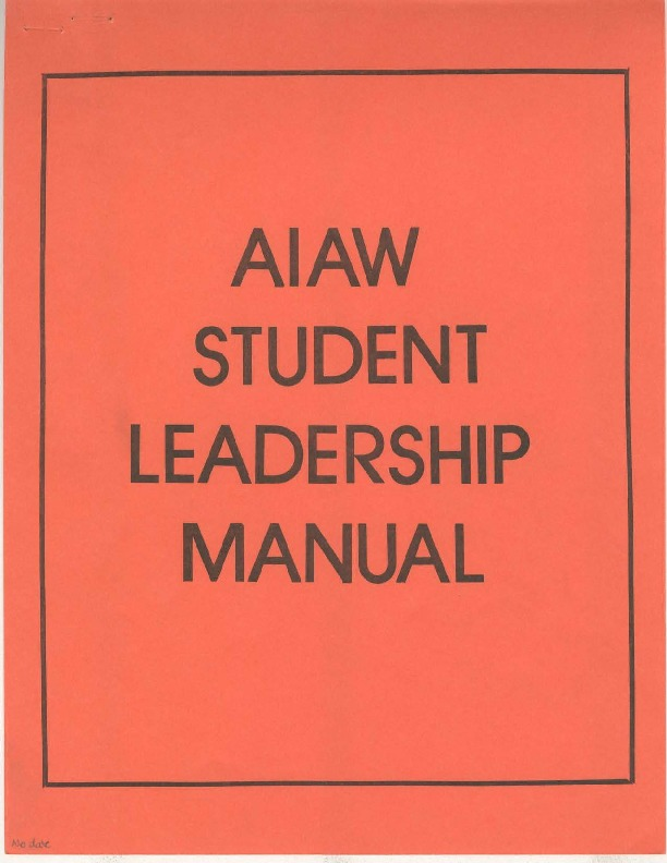 AIAW Publications Series, Publications, Misc