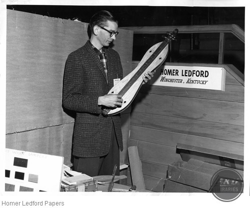 Homer Ledford With Dulcimer