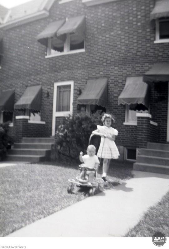 Two Unidentified Children