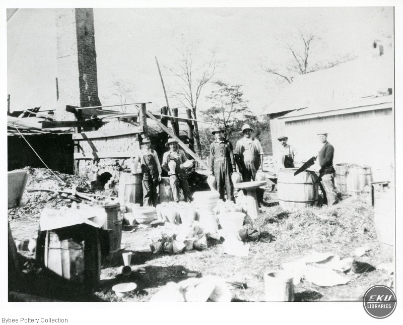 Unidentified Men with Pots