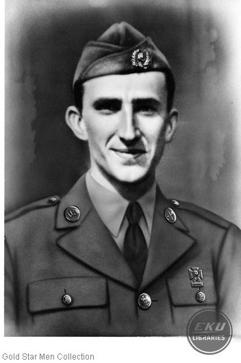 Orlie Collis Combs in Army uniform