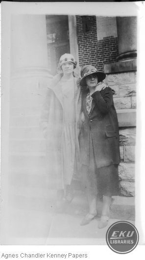 Grace Patrick and Agnes Chandler