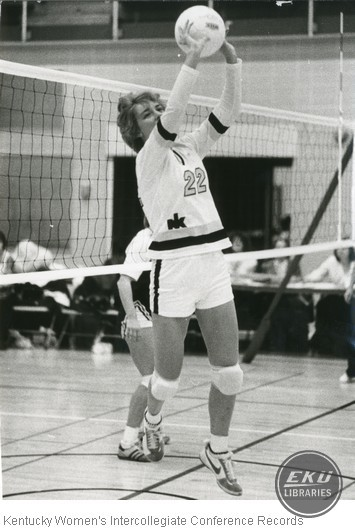Unidentified Northern Kentucky University Volleyball Player