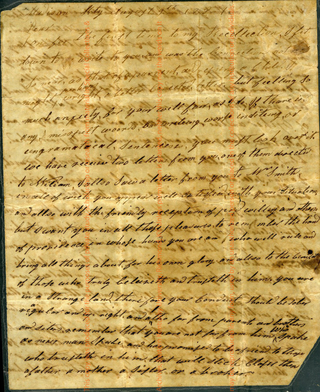 Unsigned letter to James R. Green