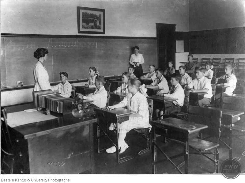 Model Laboratory School Classroom