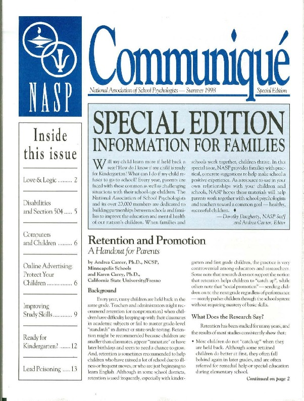 communique-specialsummer1998.pdf