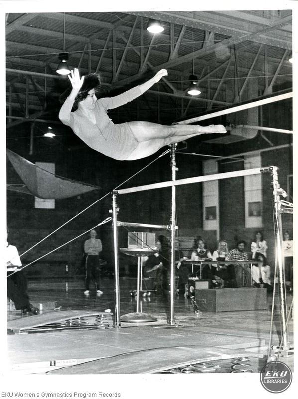 Mary Lyons on Bars