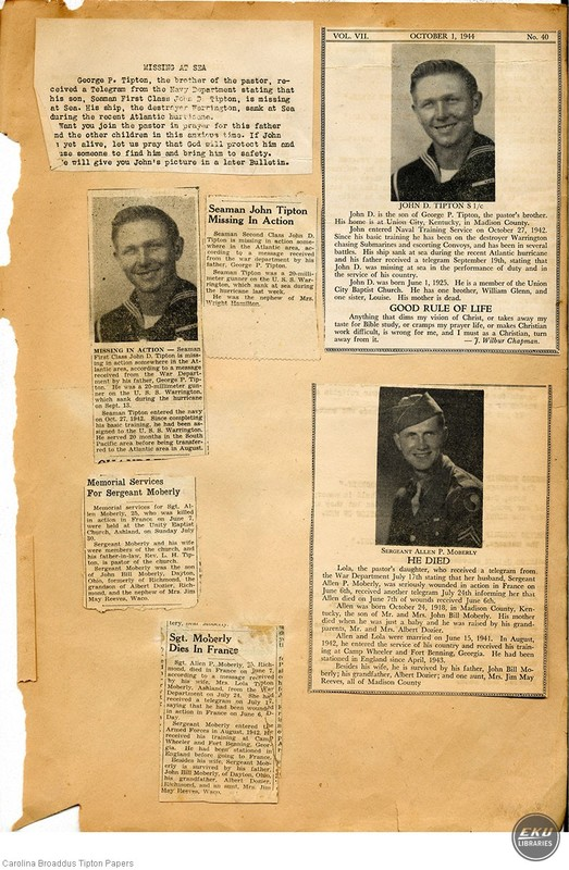 Pages from a Scrapbook