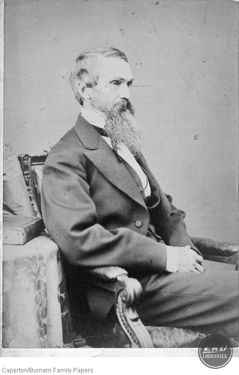 Photograph of Curtis Field Burnam