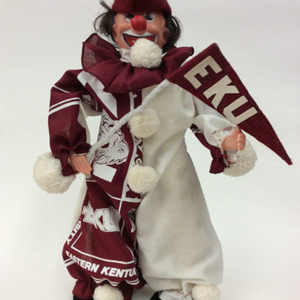 EKU Clown Figurine