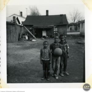 Boys with a Basketball