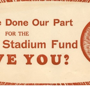 Eastern Stadium Fund Donation Card