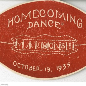 Homecoming Dance, Maroons Dance Card